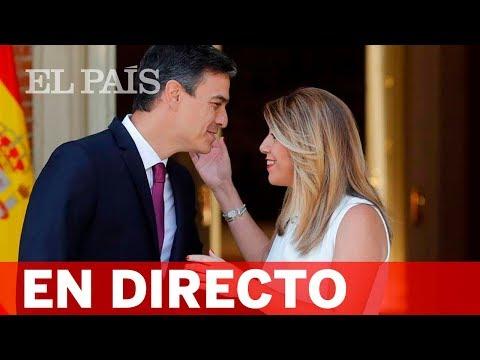 Pedro Sánchez y Susana Díaz intervienen en el Comité Director del PSOE-A en Sevilla