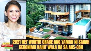 2021 NET WORTH! GRABE Ang BUSSINESS at YAMAN NI SARAH GERONIMO KAHIT WALA NA SA ABS-CBN