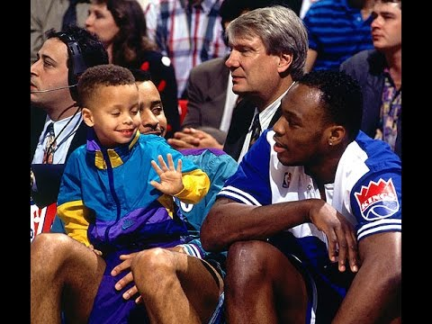 Dell and Steph Curry Father to Son
