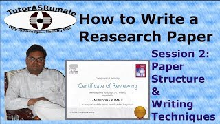 How to write a research paper, structure and writing technique