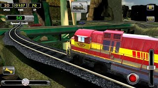 Euro Train Simulator, (by iGames Entertainment) (HD)Android Gameplay.