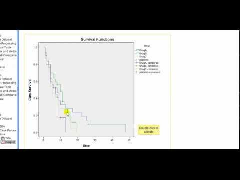 SPSS for medics: Kaplan-Meier survival curve analysis
