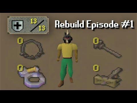 OSRS | 61 CB | 13 Defence Rebuilding Ep #1