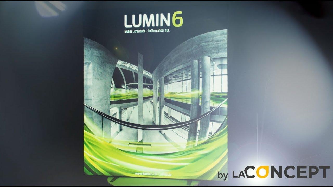 LUMIN6 2 m Rahmen - Messelösungen der Zukunft - YouTube