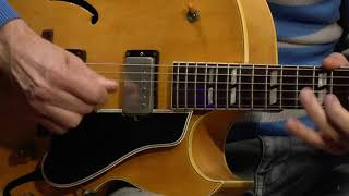 Gibson ES-175 D in natural with PAFs from 1957