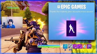 Epic Games GAVE Me THE BOOGIE DOWN EMOTE | Fortnite Score Royale