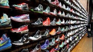 vlog sneaker shopping in nyc flight club flight 23 niketown