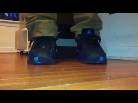 sports shoes 485d9 b36fd Air Jordan 8.0 aqua on feet