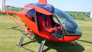 Probando helicóptero ultraligero CH77 (Parte 1/3)