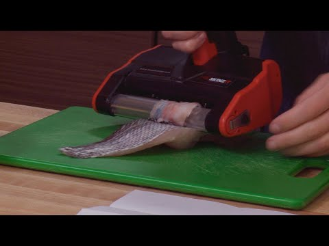 We Tried It: Electric Fish Skinner That Claims To Clean Fish In Half The Time