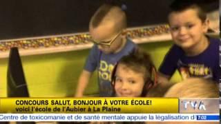 Salut, Bonjour! | École de l'Aubier de La Plaine