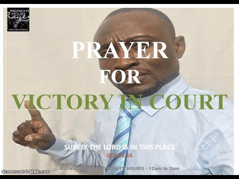 Prayer for Victory in Court
