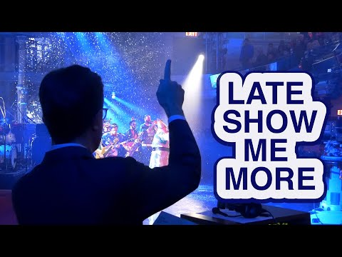 Late Show Me More: 'I Don't Call Him Stephen.'