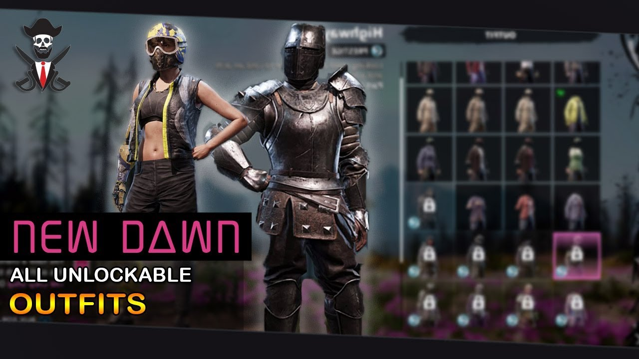 Far Cry New Dawn Every Outfit Unlockable Purchasable 2019 Youtube