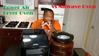 NuWave Oven vs Power Air Fryer Oven Elite.  Which is Best for You?