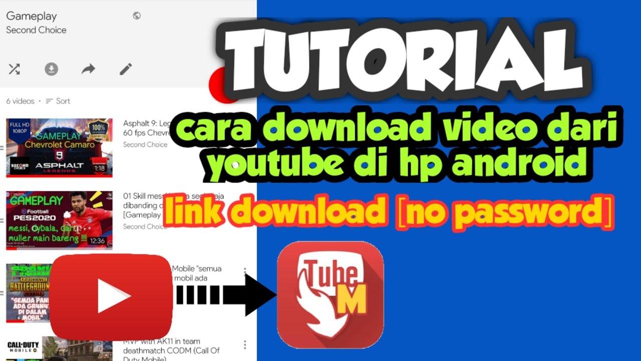Tutorial Cara Mudah Download Video Dari Youtube Youtube
