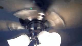 Hunter Seville Ceiling Fan with Flush Mount Light Kit