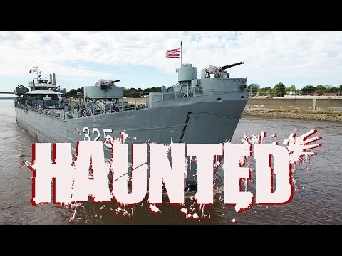 Ghost Hunting aboard the LST-325 Navy Ship (4K)