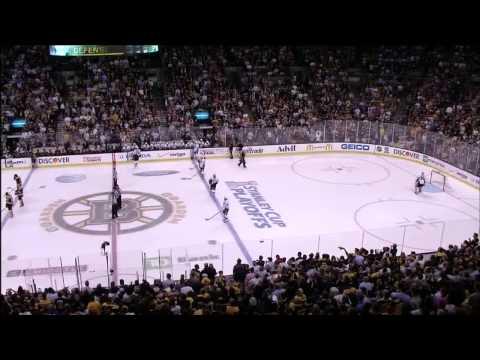 Rene Rancourt sings Star Spangled Banner. 6/5/13 Pittsburgh Penguins vs Boston Bruins NHL Hockey