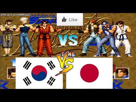 킹오브파이터즈95 Kof95 キング オブ ファイターズ95 拳皇95 Fightcade ➤ 370z (South Korea) Vs Fa5699 (Japan)