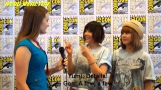 Puffy AmiYumi chatted with Nerd Reactor about anime, cosplay, cons,...