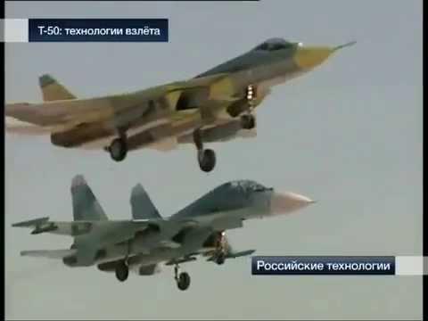 Sukhoi PAK FA - T 50 - breakthrough technologies (Eng subs)
