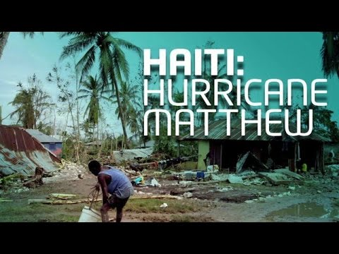 Blue Pill & Aton Edwards speaks on Haiti, Hurricane Matthew, and Preparing for Natural Disasters
