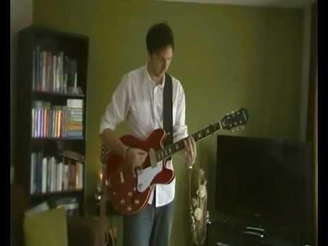 rock 'n' roll star - oasis - electric guitar cover (rhythm)