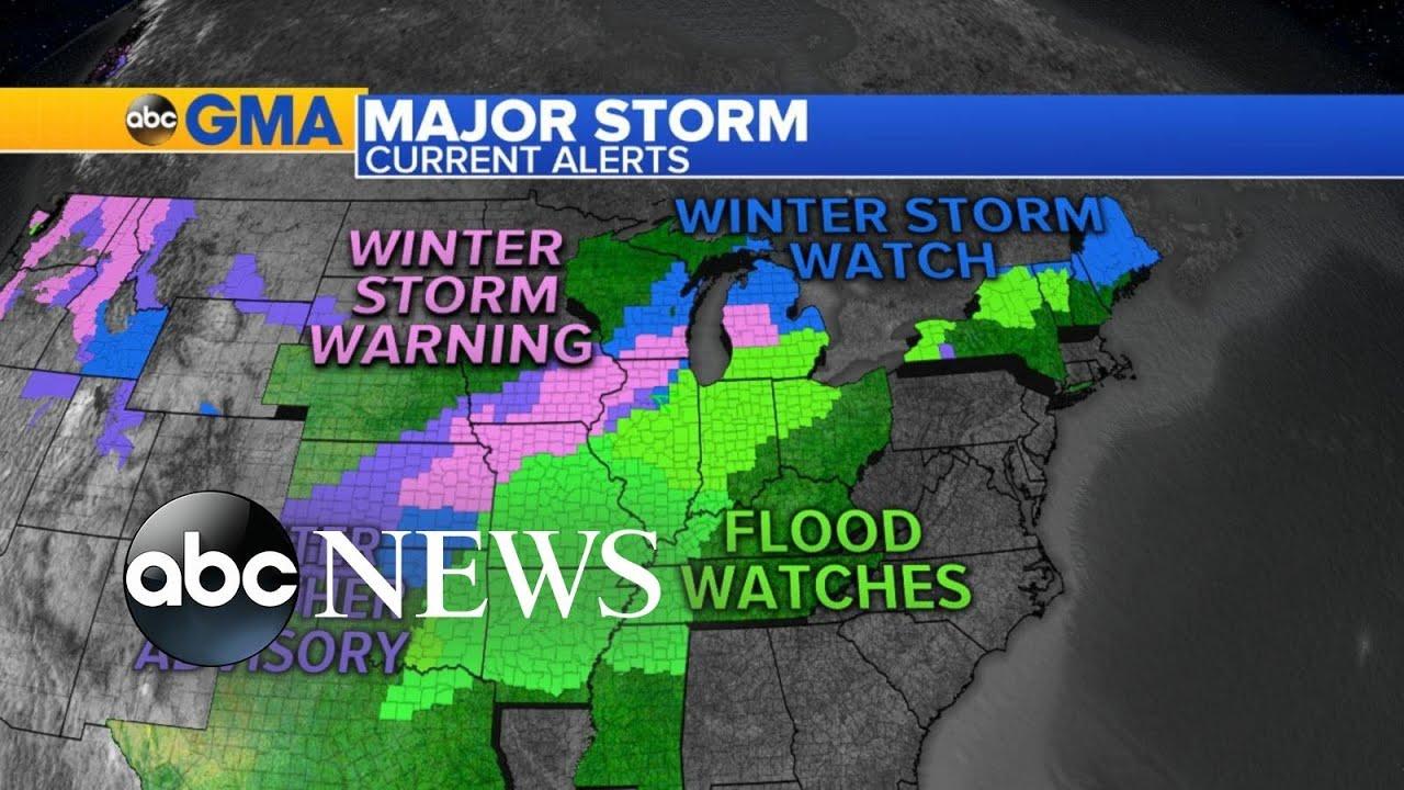 LIVE UPDATES: Tornado and flash flood watches, warnings around ...