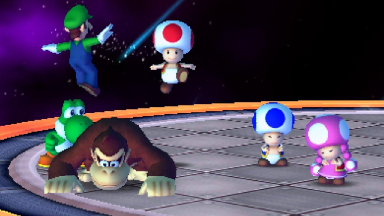 World 4-3 (Toad Scramble) - Mario Party: Star Rush