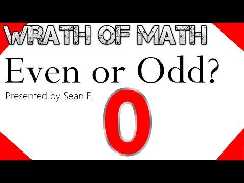 Is Zero Even or Odd?