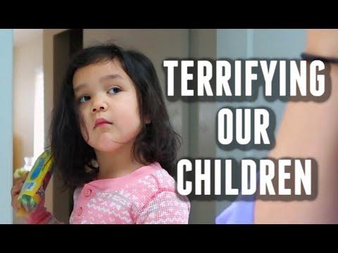 Sometimes, we scare our children on purpose -  ItsJudysLife Vlogs