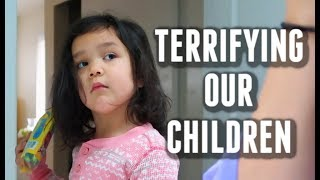 Sometimes, we scare our children on purpose -  ItsJudysLife Vlogs