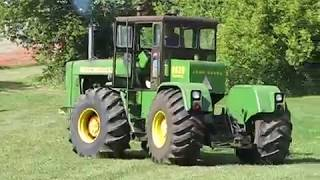 Hear it ROAR Part 3 John Deere 8020 revving its big Detroit Diesel