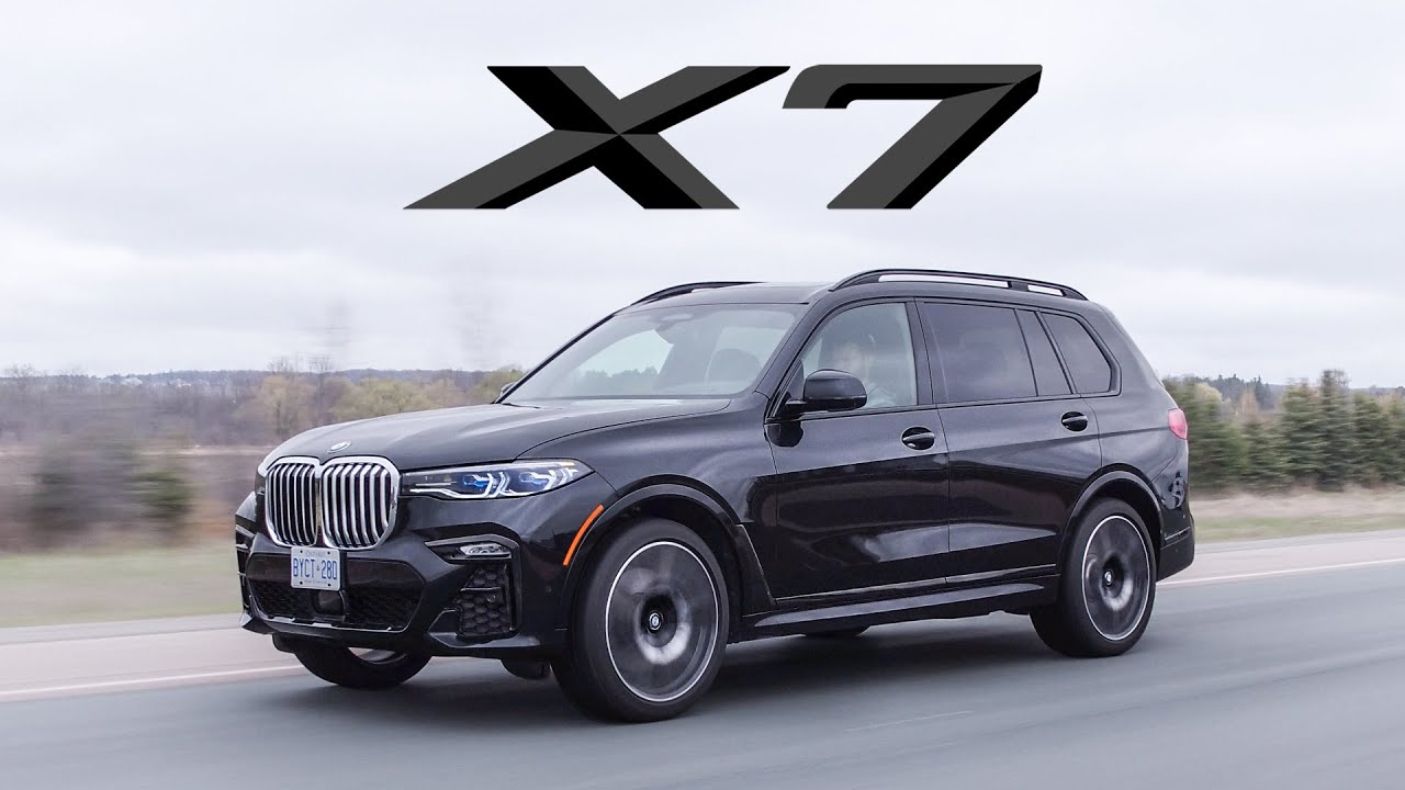 2019 Bmw X7 Review 3 Rows Of Luxury And A Big Grille