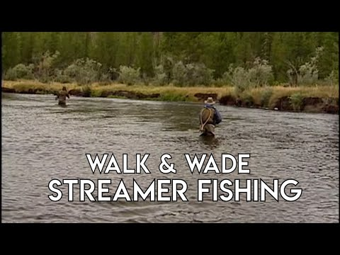 Walk & Wade Streamer Fishing For Trout | Madison River Montana