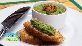 Zucchini Toast (healthy Starters) By Tarla Dalal