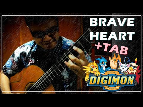 (DIGIMON) Brave Heart - Classical Fingerstyle Guitar Cover