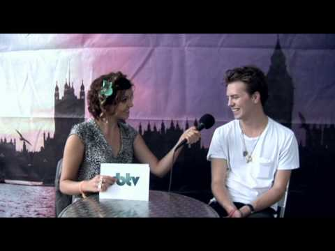 Backstage interview with Alan Pownall at the Wireless Fest 2010