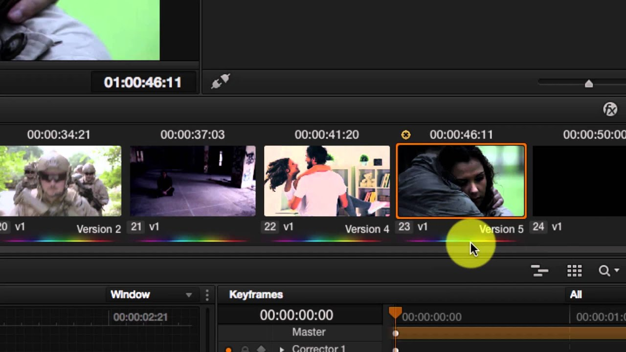 Davinci Resolve 11 Simplified - Working with Versions