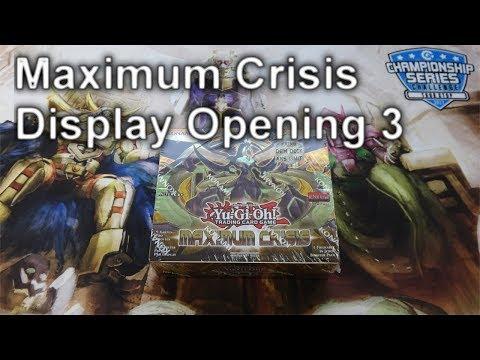 Revisit : YuGiOh MAXIMUM CRISIS Display Opening 3 (4K)
