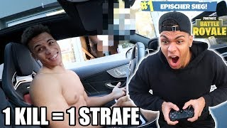 1 KILL = 1 STRAFE ! (Fortnite: Battle Royale) | PrankBrosTV