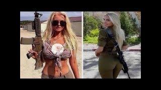 Kızların Neden İsrail Ordusuna Alındıklarını İzle... Şok Edici Sürpriz !! Tanrı Onları Bağışlasın !