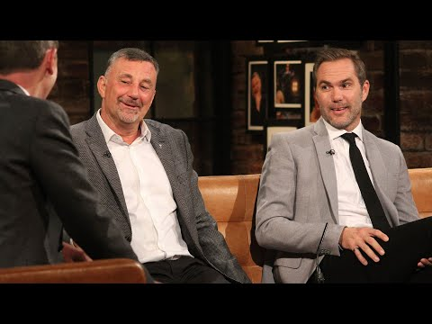 Classic Irish football moments with John Aldridge and Jason McAteer | The Late Late Show