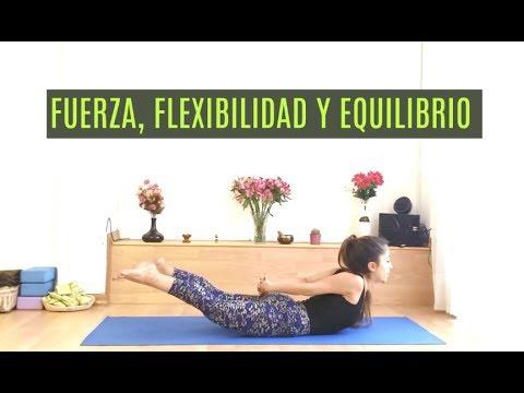 Fuerza, Flexibilidad y Equilibrio - Vinyasa Yoga (20 min)