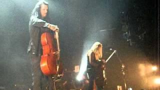 Apocalyptica - Betrayal/Forgiveness, концовка (Москва 12.08.2010)