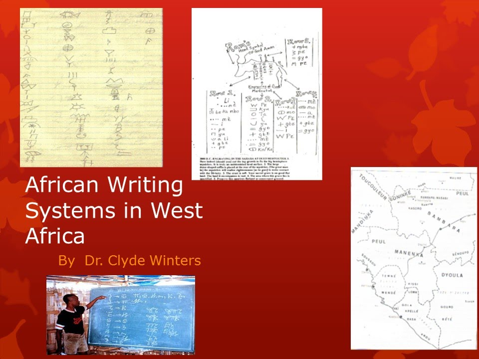 West African Writing Systems