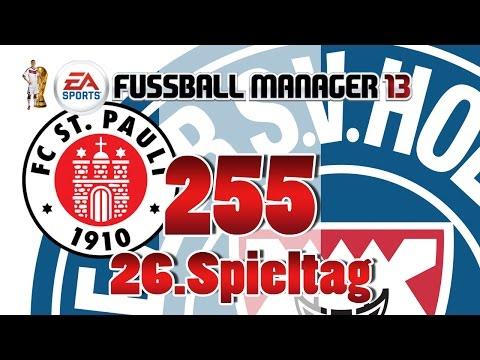 Fussball manager lets play 255 fc st pauli  26 spieltag  fm lp 2014 karriere