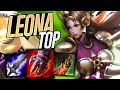 BRUISER LEONA TOP IS SO BUSTED!! - League of Legends