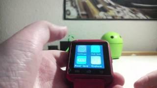 U8 smartwatch quick look